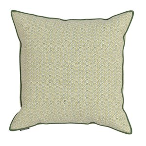 Decorative cushion cover HABITAT Green