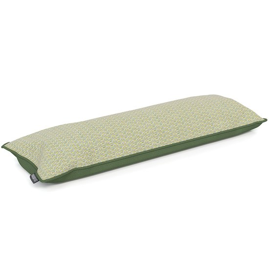 Dog bed LOUNGE walnut - cover grass